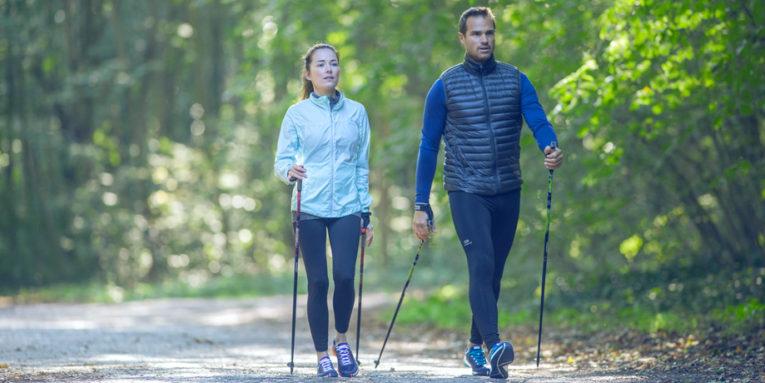 workout Nordic-Walking