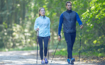 workout Nordic-Walking