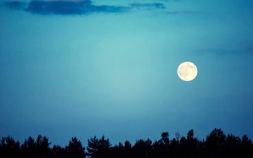 nordic walking chiaro di luna