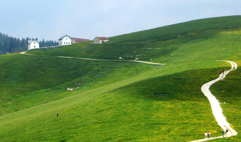 Camminata Nordic Walking altopiano di Asiago