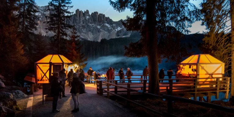 Mercatini di Natale al Lago di Carezza e Bolzano