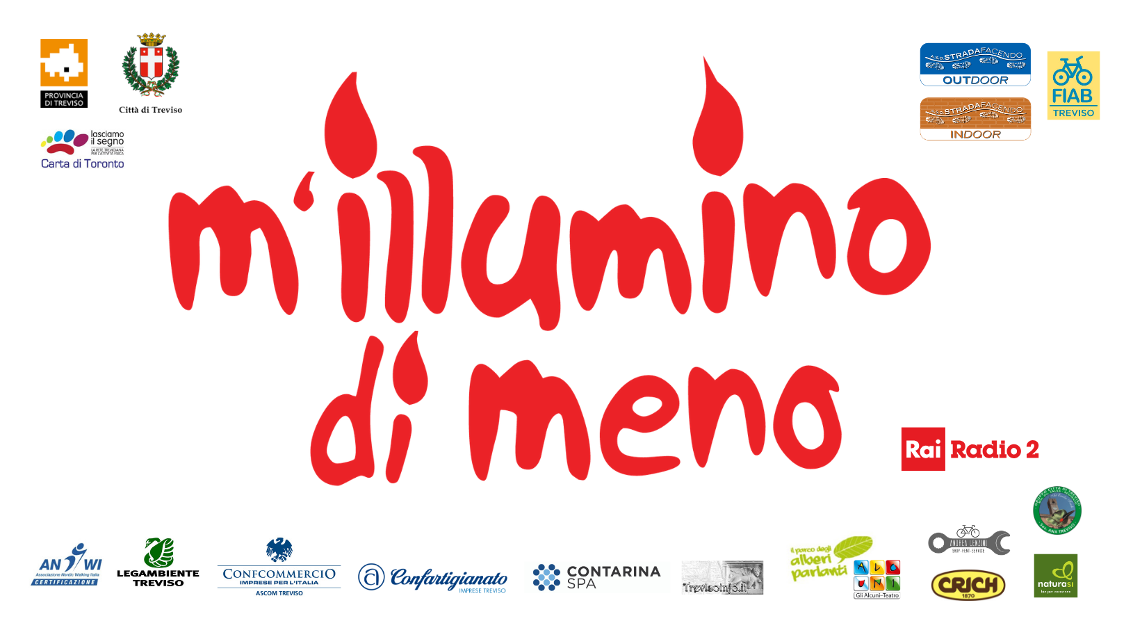 M'illumino di meno 2019 Treviso