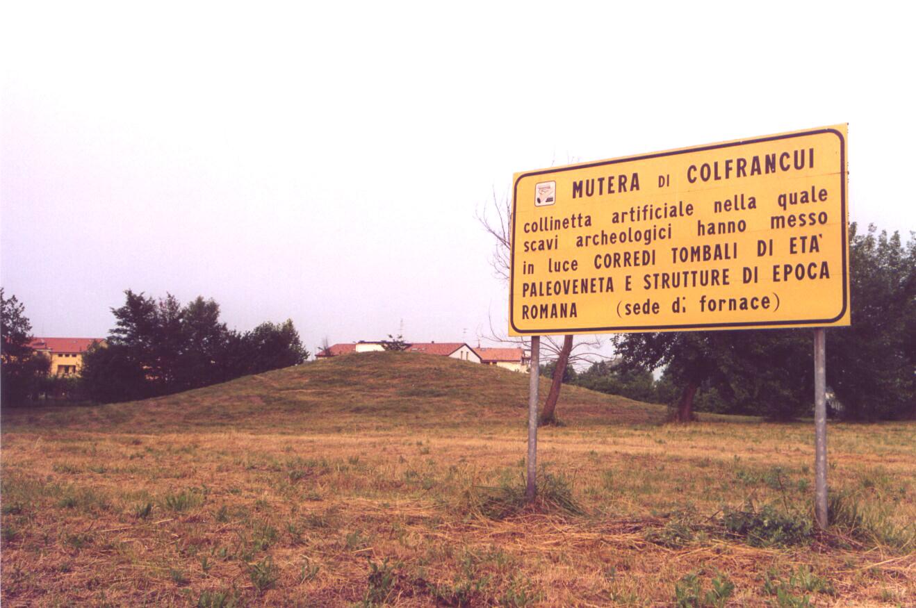 Percorso Nordic Walking intorno a Colfrancui di Oderzo e la Mutera, con visita guidata resti romani .