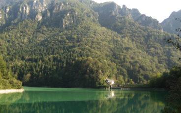 Feltre lago de la Stua val Canzioi