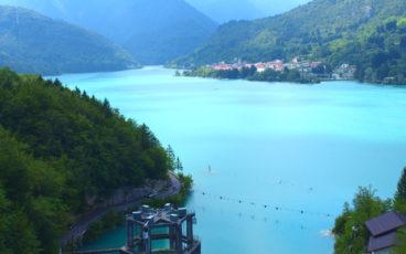 nordic walking Lago di Barcis.