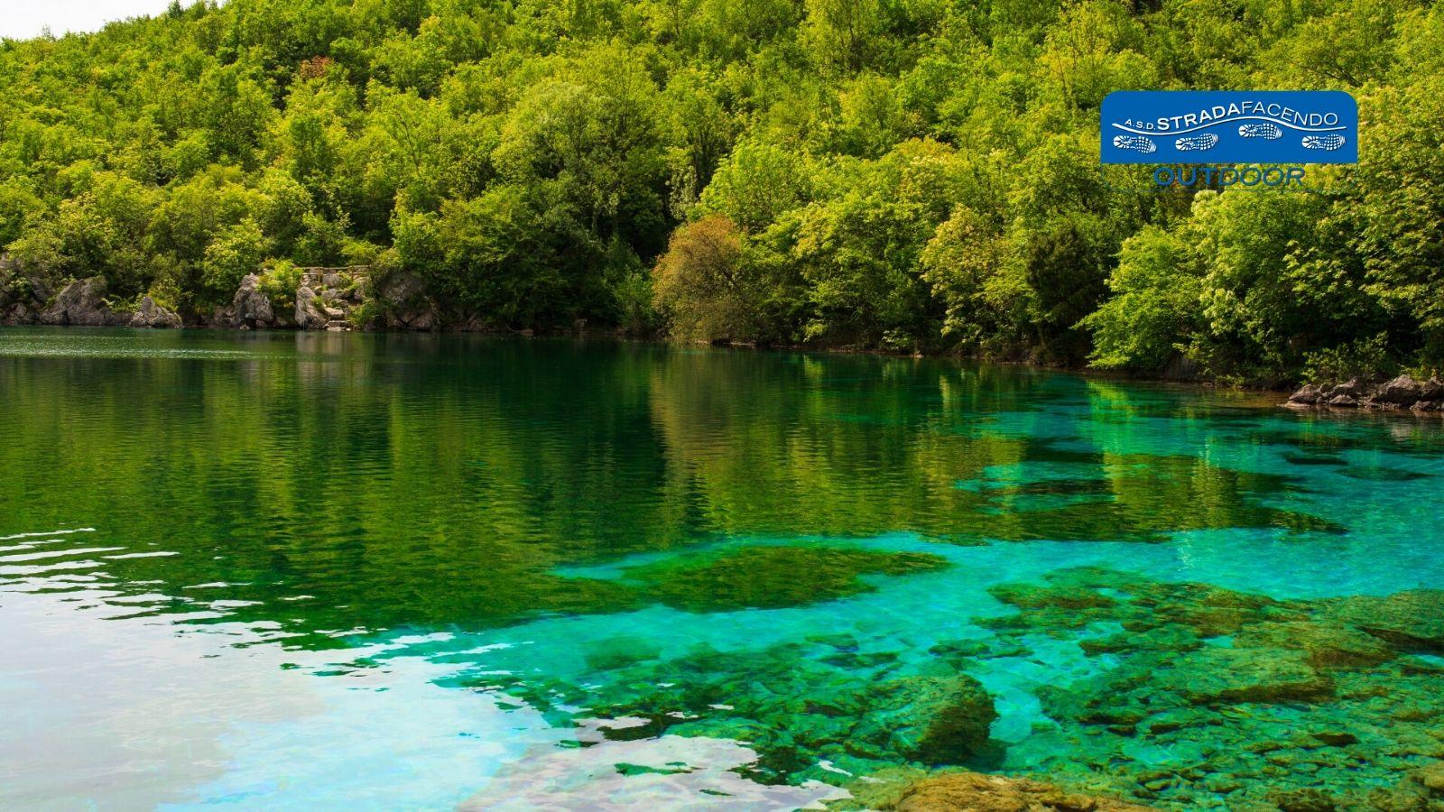 nordic walking lago del Cornino