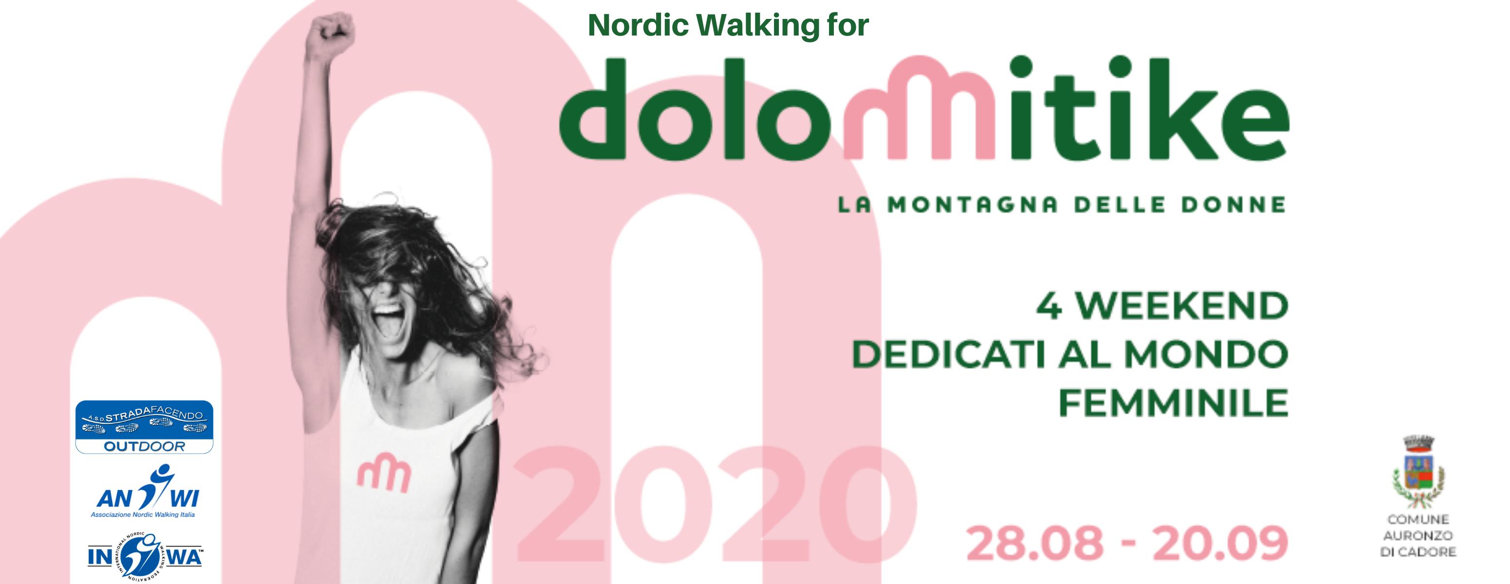 nordic walking dolomitike 2020