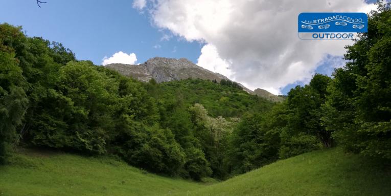 nordic walking pendici del monte Dolada